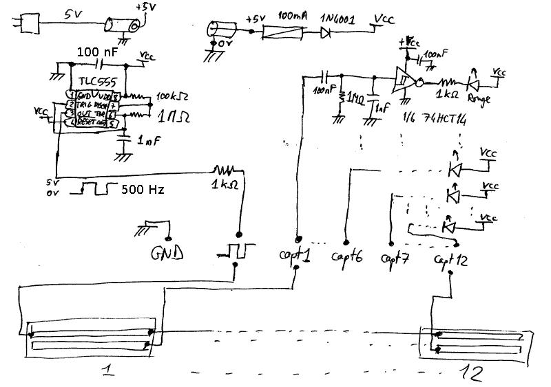 Schema capteur electrique