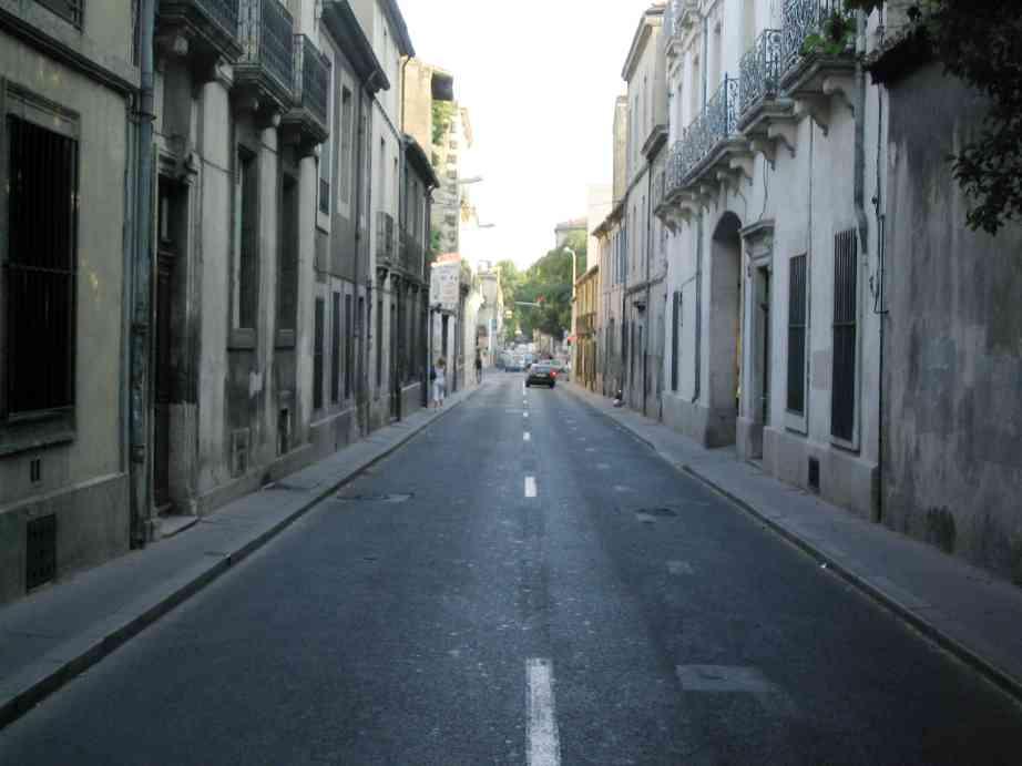 La rue saint-louis (cliquez sur l'image pour l'agrandir)